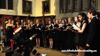 "The Pitchforks of Duke University and Out of the Blue- ""Alleluia"""