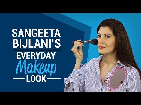 GRWM: Sangeeta Bijlani's everyday makeup...