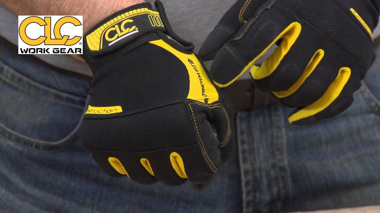 Fingerless impact gloves - Clc Flexible Work Gloves Or Fingerless Work Gloves And Beanie Hat Youtube