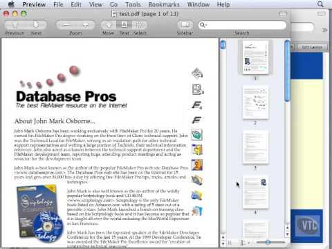 FileMaker Tutorial - 081 - Inserting a PDF