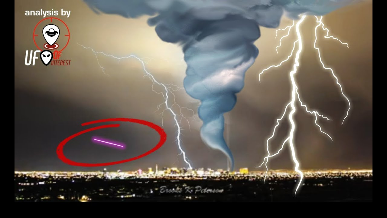 sinister ufo blasts through lightning storm and tornado here s the