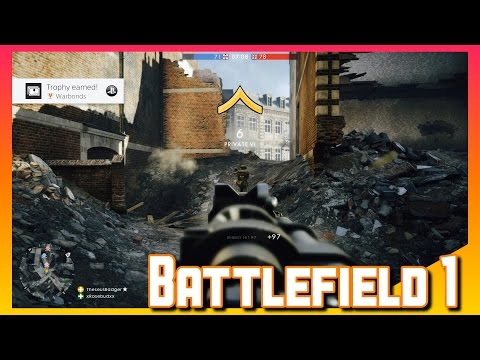 Battlefield 1 Multiplayer | Squad Goals With Rosebud | BF1 Gameplay (PS4)