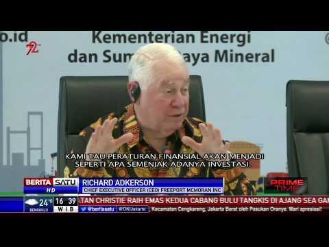 Bos Besar Freeport: Kami Berkomitmen Patuhi Aturan di Indonesia
