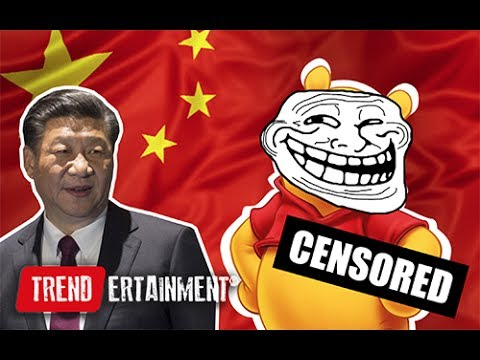Winnie The Pooh is being censored in China!
