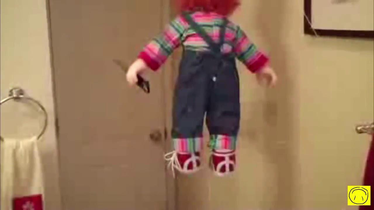 Broma con muñeco   Susto   Chiste   Chistoso   Humorous   Movies graciosos