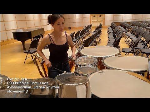 Cynthia Yeh Plays Dorman's 'Eternal Rhythm'