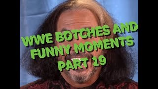 WWE Botches And Funny Moments Part 19