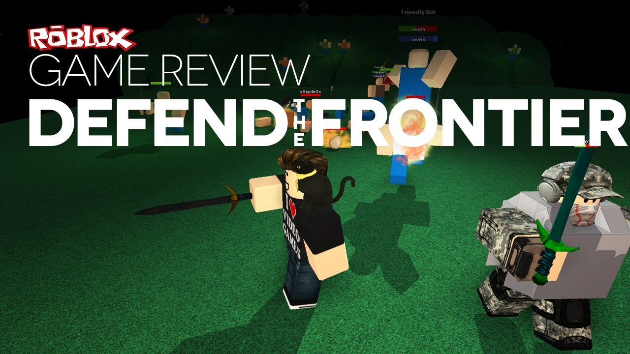 Defend The Frontier Roblox Game Review Defend The Frontier Youtube
