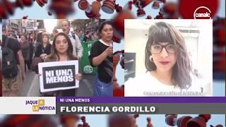 """Florencia Gordillo: A 4 años de la primer marcha """"Ni una menos"""""""
