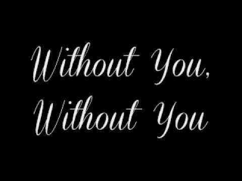 Without You By: Motley Crue (Lyrics)