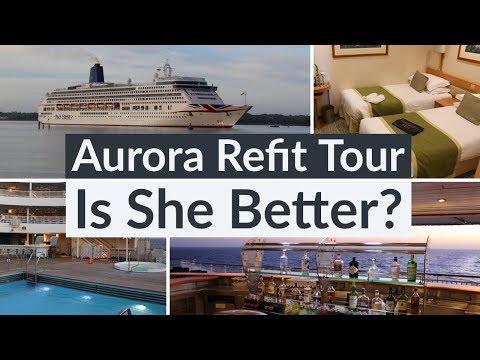 P&O Aurora Full HD Tour - First Look Following Major 2019 Refurbishment