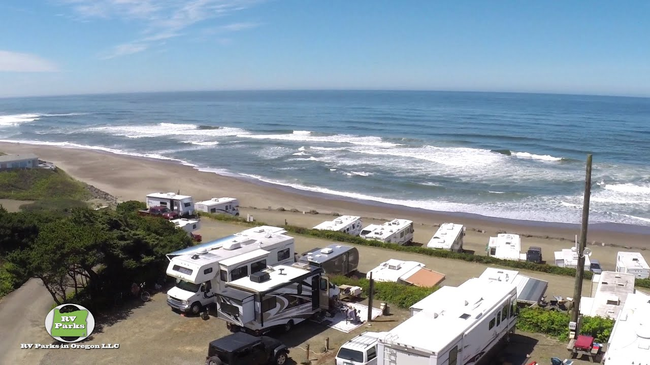 Sea And Sand Rv Park Depoe Bay Or Youtube