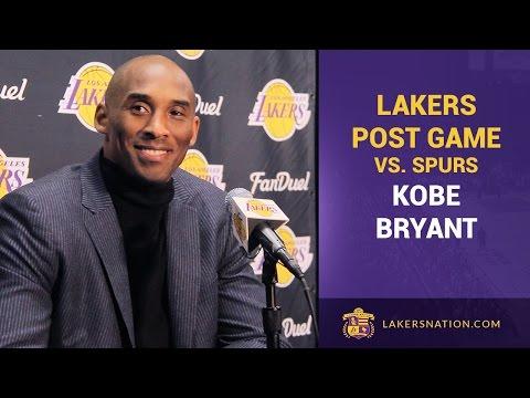 Kobe Bryant Talks Spurs, Tim Duncan, Manu Ginobili