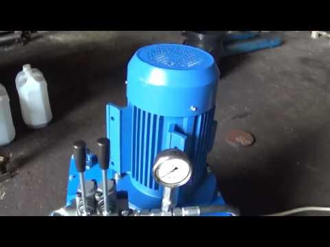 Маслостанция гидравлическая 5.5 кВт с ручным управлением