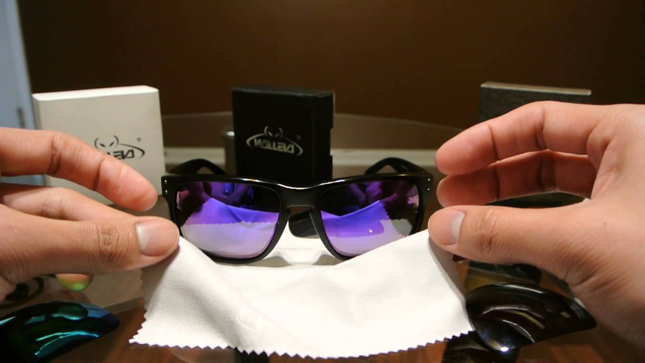 2f24fa35d2 Walleva Replacement Lenses for the Oakley Holbrook Overview - YouTube