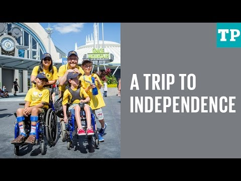 Fostering independence in kids with disabilities—at Disney World