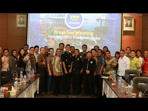 Breakfast Meeting Forum Supply Chain Indonesia