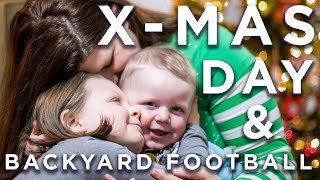 """X-Mas Morning & Backyard Football"" 