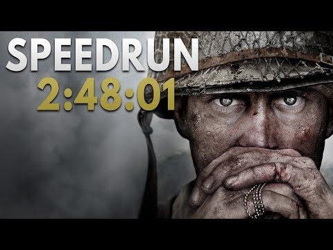 Call of Duty: WWII Speedrun in 2:48:01 (2:39:17 w/o loads) [Personal Best]