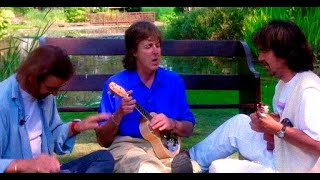 The Beatles Reunion At Friar Park 1994 Full Version LEGENDS HD Rare footage.