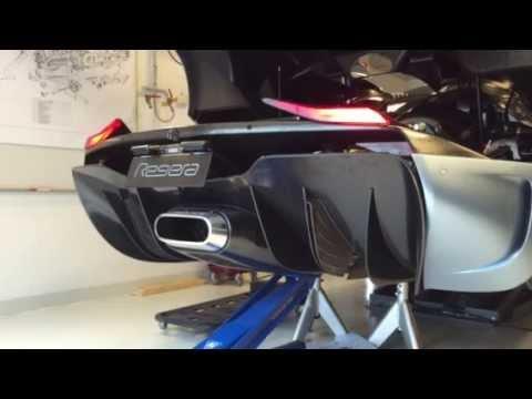 Koenigsegg Regera revs from 50 to 350 kph on dyno
