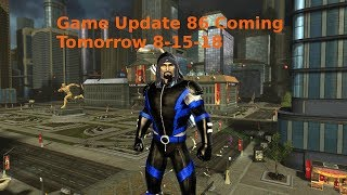 DC Universe Online Game Update 86 Coming Tomorrow