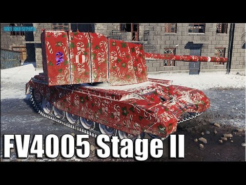 БАБАХА на городской карте Харьков ✅ World of Tanks FV4005 Stage II