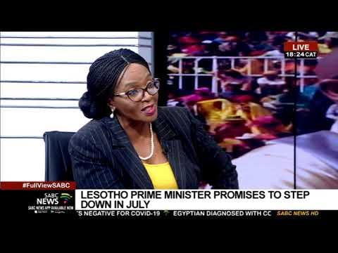 Latest developments in Lesotho: Sophie Mokoena