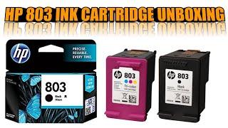 HP 803 Black/Multi-Colour Ink Cartridge Unboxing