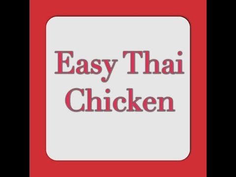 New Recipe – Easier than the Crock-pot! Thai Chicken & Vegetables – 3 Points Plus
