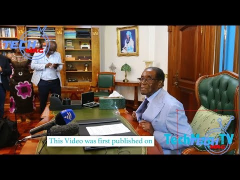 exclusive Interview Mugabe pins Mnangagwa down, reveals details