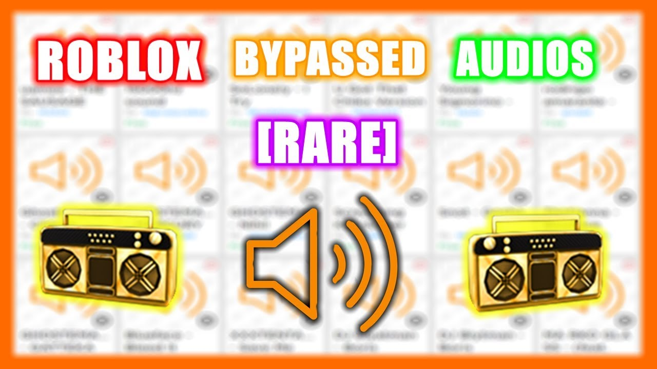 Roblox Bypassed Audios Rare 2019 Youtube