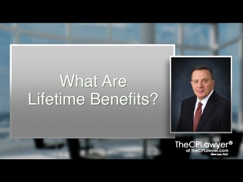 What Are Lifetime Benefits?
