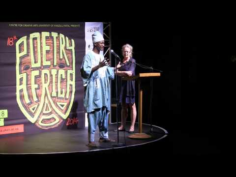 Ombr Blanche at POETRY AFRICA 2014