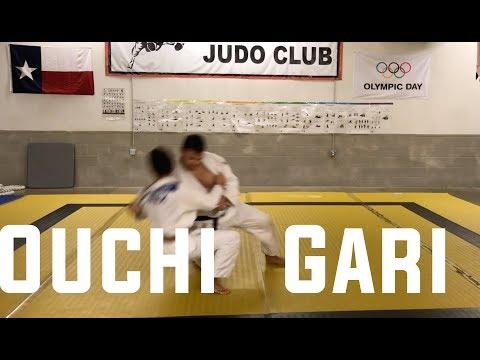 Judo - Ouchi Gari