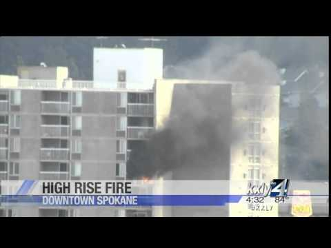 High-rise fire hits Park Tower Apartments