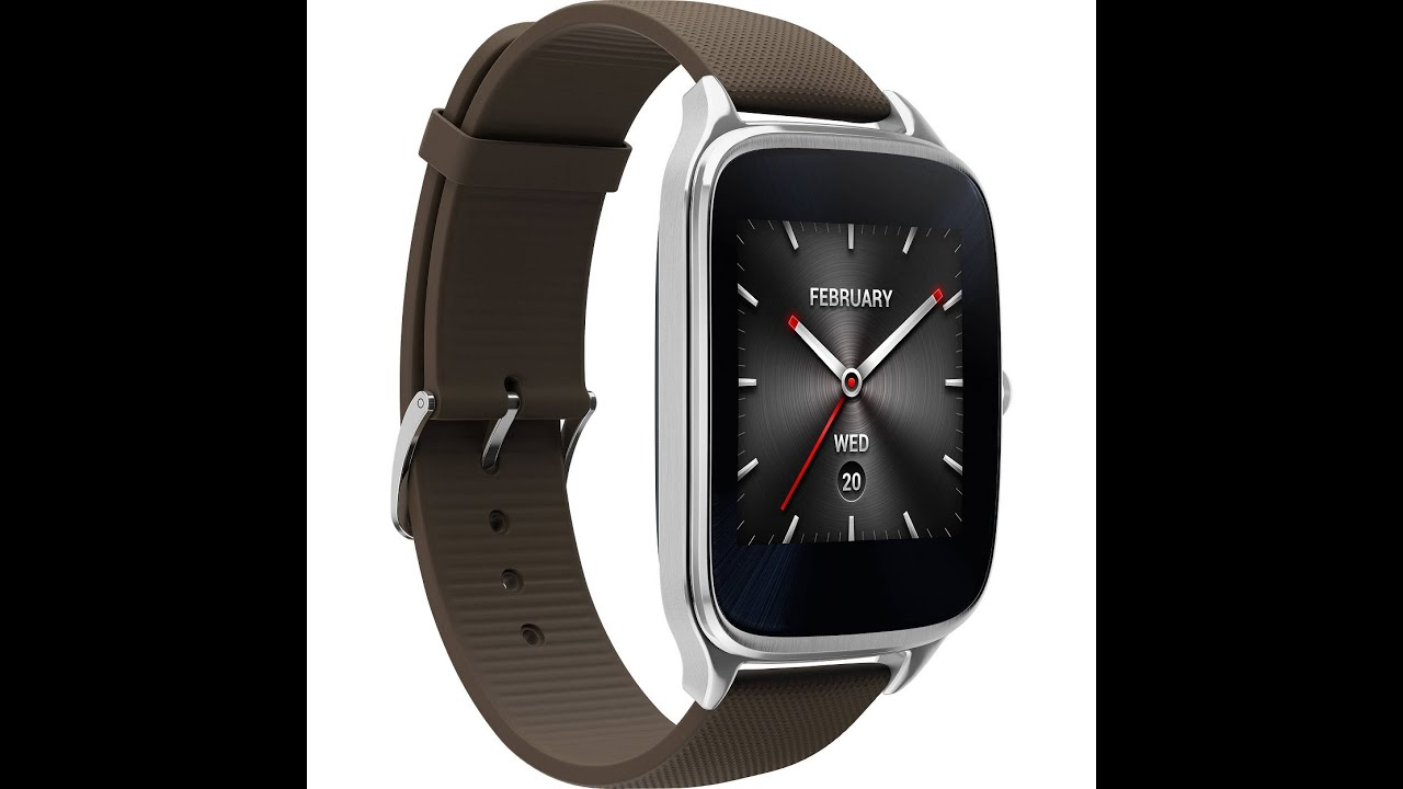 Asus Zenwatch 2 (1.63, Silver, Rubber Band ) Unbox & 1st startup & pairing review in Hindi