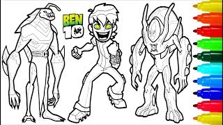 BEN 10 Coloring Pages | Colouring Pages for Kids