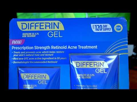 BEST ACNE TREATMENT SO FAR 2017 DIFFERIN GEL (ADAPALENE GEL 0.1%)