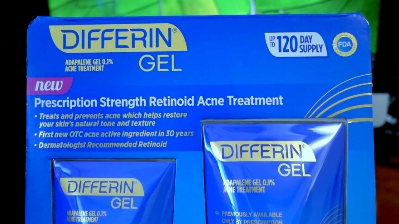 Best Acne Treatment So Far 2017 Differin Gel Adapalene Gel 0 1