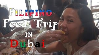Vlog #1 Filipino Food Trip in Dubai!
