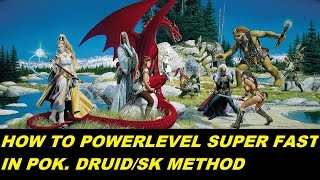 EVERQUEST NERFED - How to power level EXP and skills superfast in POK. Druid or SK method (1080p)