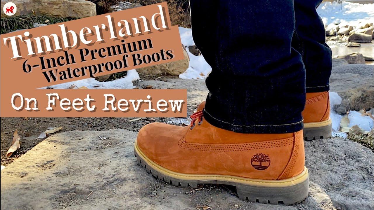 jugo Loco Doncella  Timberland Boots   On Feet Review   6-inch Premium Waterproof Boots -  YouTube