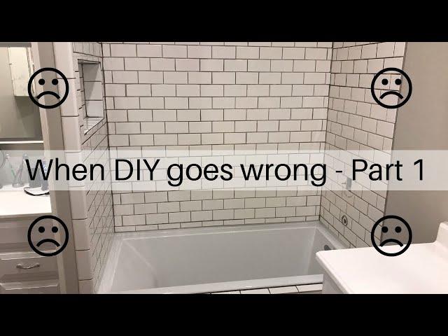 Ugly Subway Installation - Bad DIY Job - Part 1