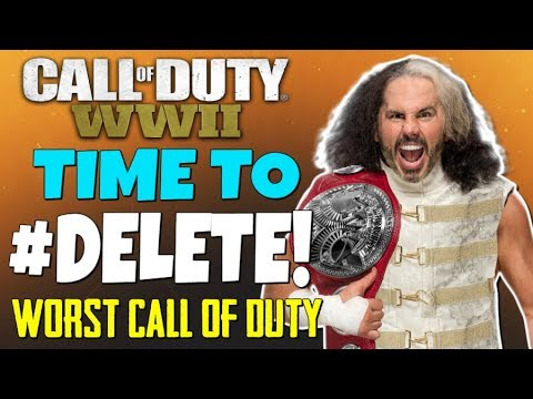 """""""R.I.P. Call of Duty: WWII ...Time To #Delete This Game!"""" - (1 Year Later, Only 1 Day Played) thumbnail"""