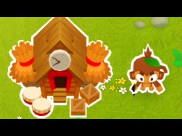 Using The Monkey City Village - The Biggest Free Dart Monkey Army