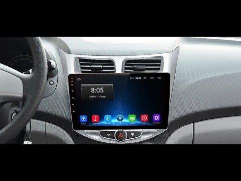 Штатная магнитола для Hyundai Solaris (2011-2016) 2/32Гб, 4G