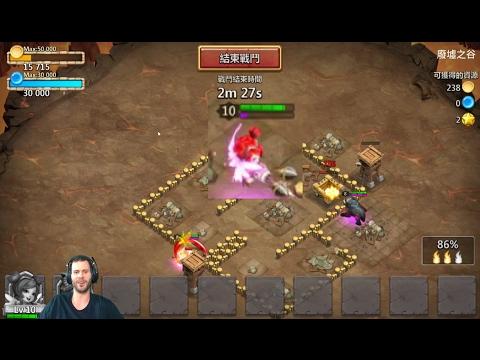 New Hero SaraH GAMEPLAY Valentine's Day Update Castle Clash