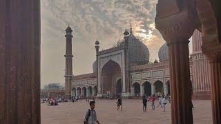 Delhi ki jama masjid k behtreen nazare Jo apne phle kabhi nahi dekhe honge/Jama masjid vlog