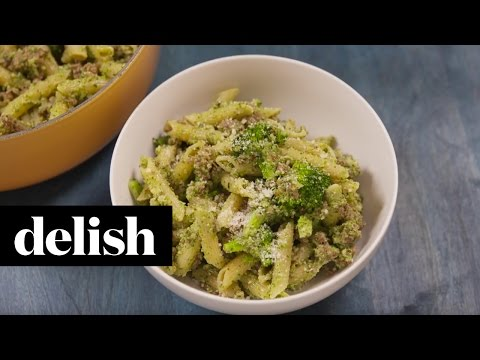 How To Make Broccoli Pesto | Delish